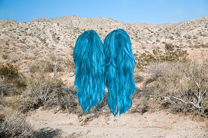 Talia Shipman's Artwork Meet Me In The Middle (Wigs)