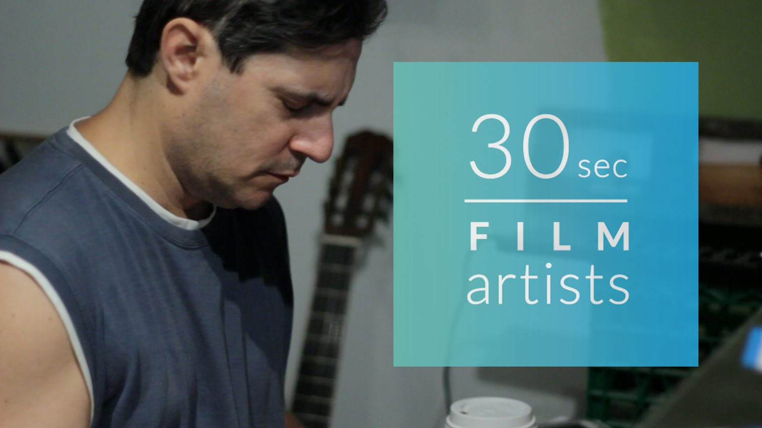 30sec film artists Vol.2 – Bob Wiseman