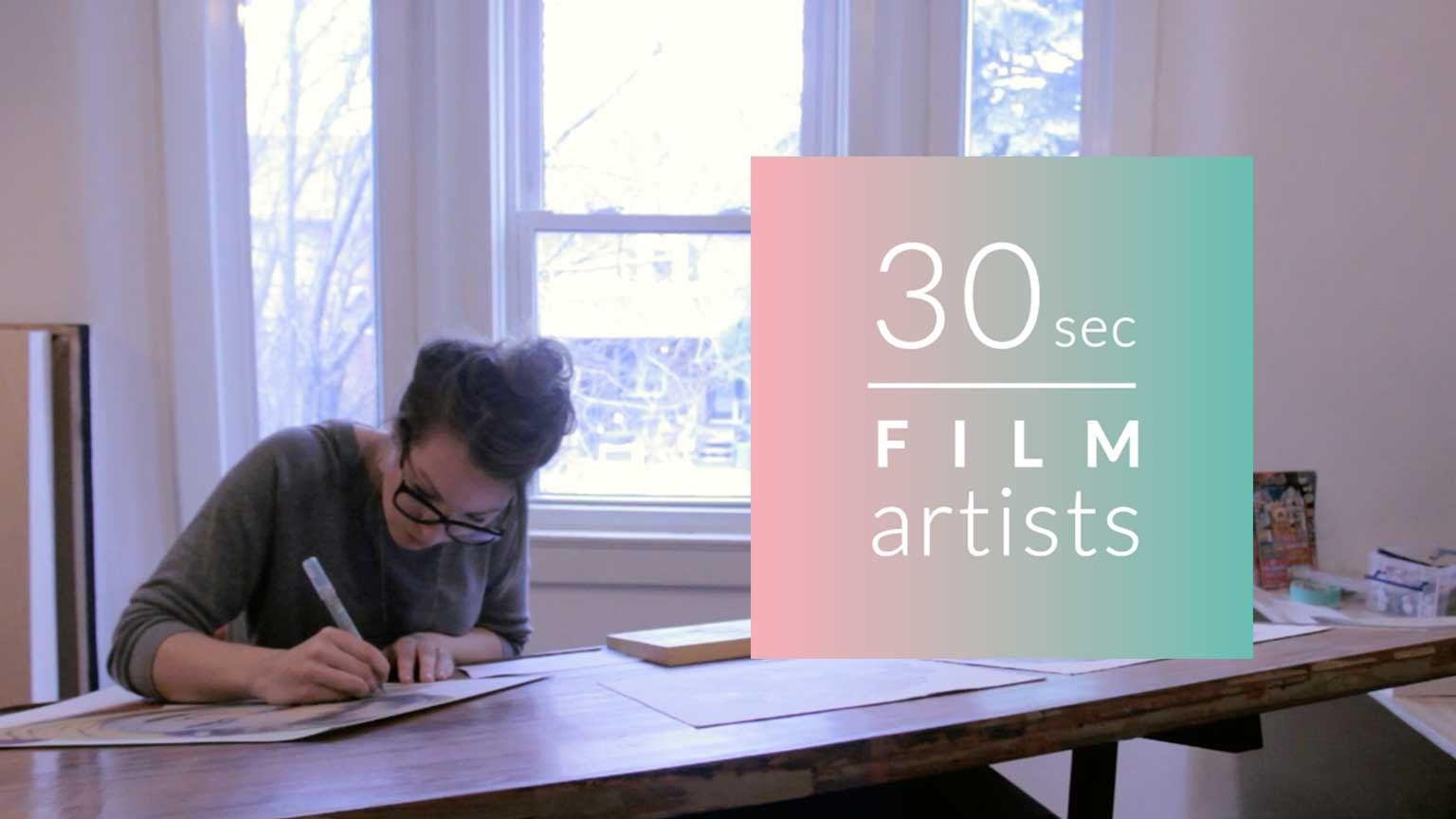 30sec film artists Vol.24 – Kirsten McCrea